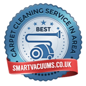 Badge - Best Carpet Cleaning Service in Area - by smartvacuums.co.uk