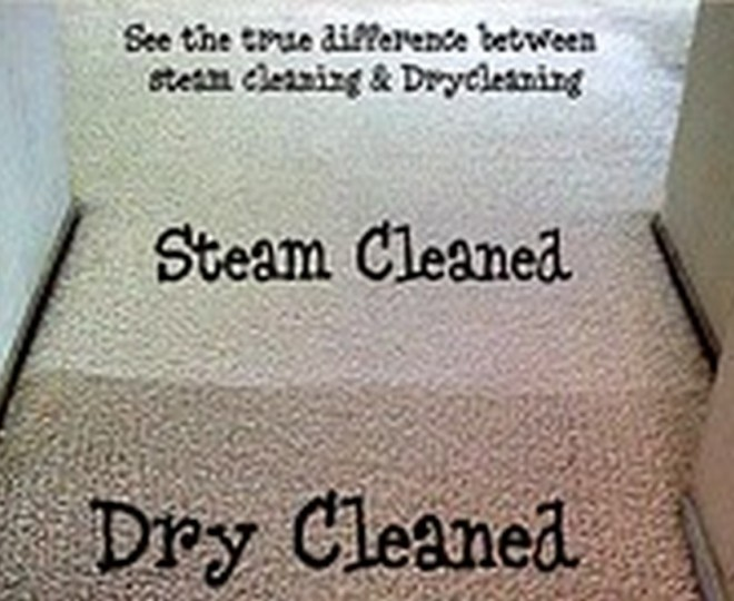 The difference between steam cleaning and dry cleaning carpets