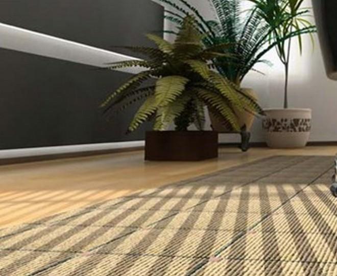 Close up of boardroom carpet