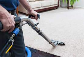 A powerful carpet cleaning machine