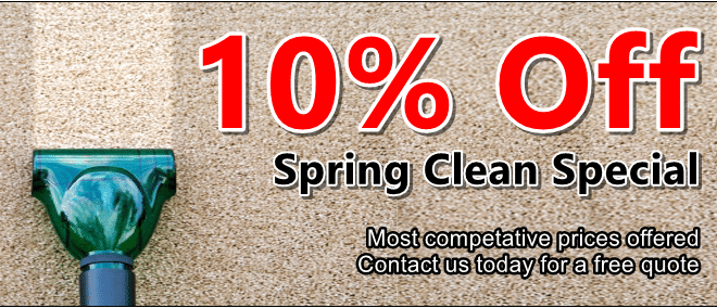 Cleaner Carpets Bristol - Special Offer - 10% Off